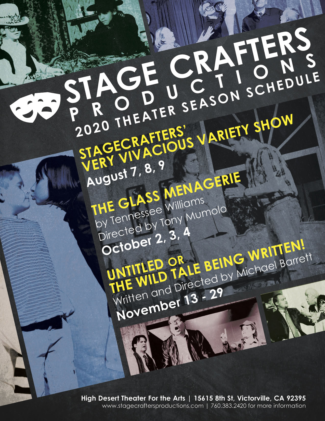 STAGE CRAFTERS 2020 Season